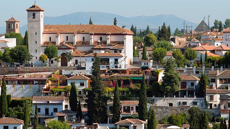 Los barrios Albaicín y Sacromonte de Granada